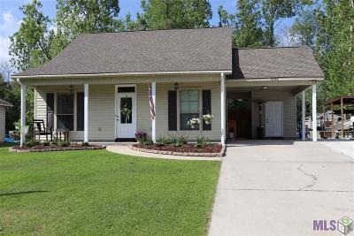 Denham Springs Single Family Home For Sale: 15056 Mill Settlement Trace
