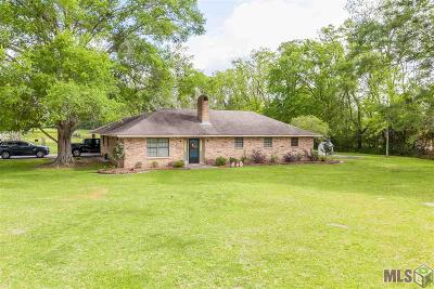 Gonzales Single Family Home For Sale: 42456 Black Bayou Rd