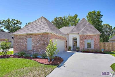 Prairieville Single Family Home Contingent: 43229 Pond View Dr