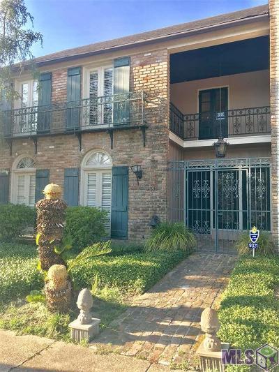 Baton Rouge LA Condo/Townhouse For Sale: $329,000