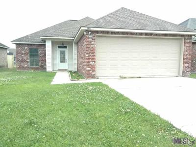 Denham Springs Single Family Home For Sale: 14191 Stones Throw Ct