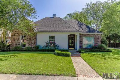Zachary Single Family Home For Sale: 5188 Creek Valley Dr