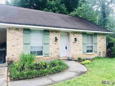 Zachary Single Family Home For Sale: 4075 Nelson Dr