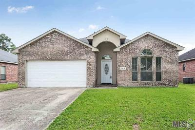 Denham Springs Single Family Home For Sale: 26276 Avoyelles Ave