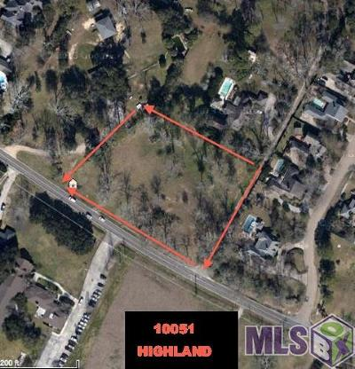 Baton Rouge Residential Lots & Land For Sale: 2.17 Acres Highland Rd