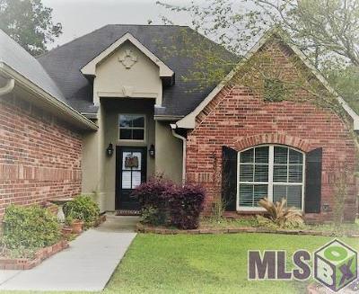 Denham Springs Single Family Home For Sale: 11145 Ascension Ct