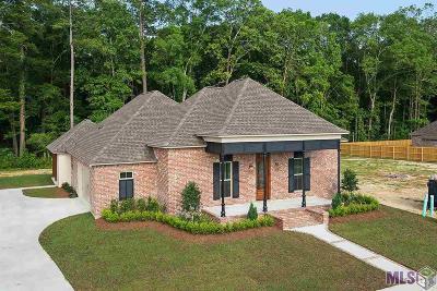 Denham Springs Single Family Home For Sale: 33018 Edith Dr