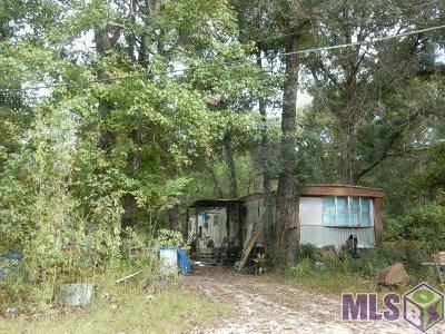 Denham Springs Single Family Home For Sale: 23640 S Walker Rd