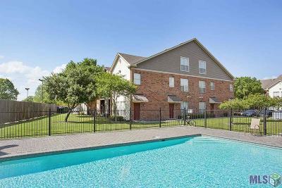 Baton Rouge Condo/Townhouse For Sale: 710 E Boyd Dr #1306
