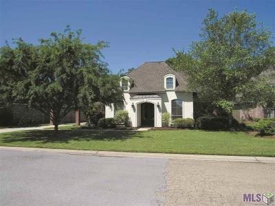 Denham Springs Single Family Home For Sale: 30939 Caney Branch Rd