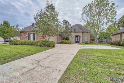 Prairieville Single Family Home For Sale: 18317 Fountain Hill