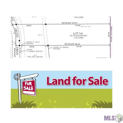 Gonzales Residential Lots & Land For Sale: 43308 Maple Grove Dr
