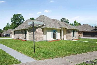 Denham Springs Single Family Home For Sale: 30079 Eden Church Rd