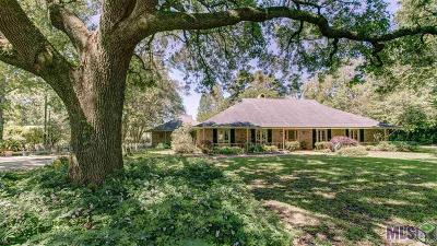 Gonzales Single Family Home For Sale: 38394 La Hwy 621