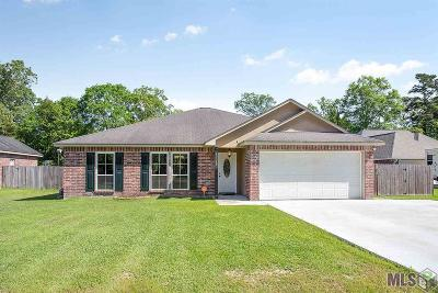 Denham Springs Single Family Home For Sale: 8169 Versailles Dr