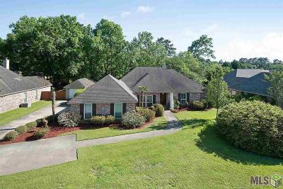 Denham Springs Single Family Home For Sale: 7352 Lake Meadow Dr