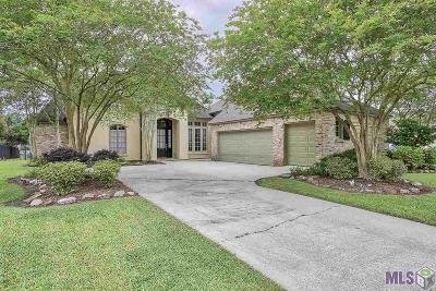 Prairieville Single Family Home For Sale: 18155 Lake Harbor Ln