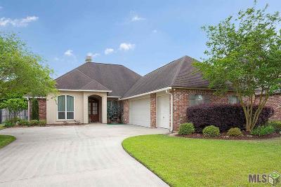 Prairieville Single Family Home For Sale: 39391 Quail Creek Ave