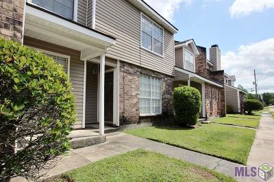 Baton Rouge Condo/Townhouse For Sale: 6212 Stumberg Ln #605