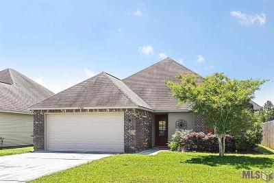 Denham Springs Single Family Home For Sale: 11580 Mary Lee Dr