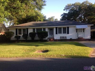Port Allen Single Family Home For Sale: 815 Avenue G