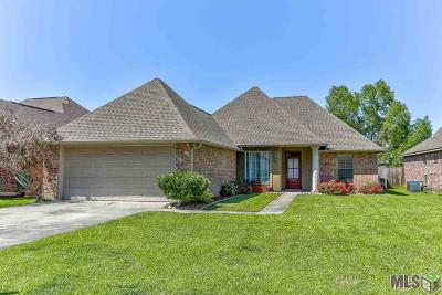 Denham Springs Single Family Home For Sale: 10163 Angela Dr