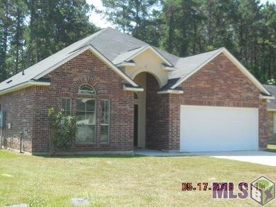 Denham Springs Single Family Home For Sale: 25984 Bronzewood St