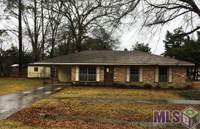 Baton Rouge LA Single Family Home For Sale: $66,700