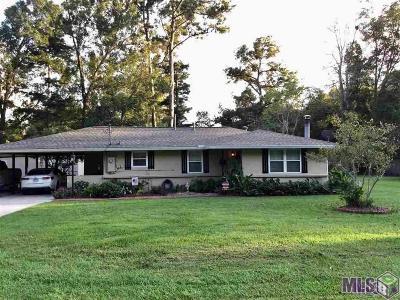 Denham Springs Single Family Home For Sale: 1106 Aime St