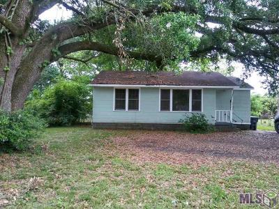 Baton Rouge LA Single Family Home For Sale: $37,900