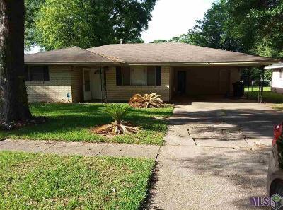 Baton Rouge LA Single Family Home For Sale: $132,900