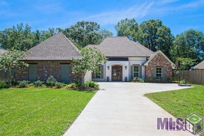 Denham Springs Single Family Home For Sale: 30772 Barnett Ln