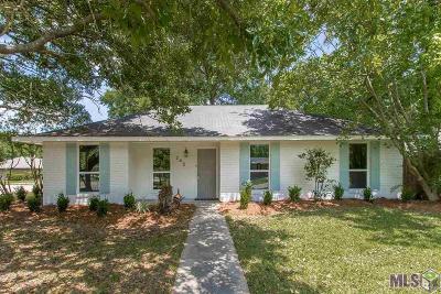 Denham Springs Single Family Home For Sale: 245 Carolyn Ave