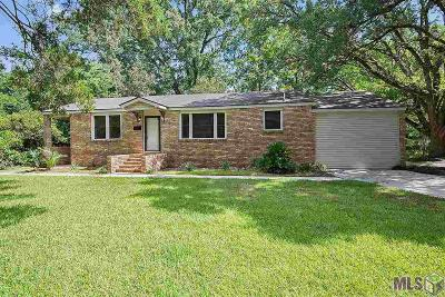 Baton Rouge Single Family Home For Sale: 10545 Red Oak Dr