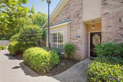 Baton Rouge Condo/Townhouse For Sale: 1687 Sharp Rd