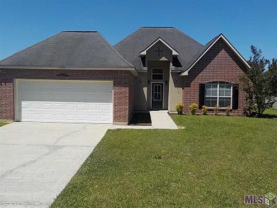 Denham Springs Single Family Home For Sale: 11407 Buckingham Dr
