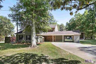 Prairieville Single Family Home For Sale: 39267 David Dr