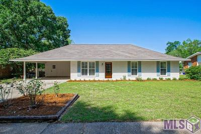 Baton Rouge LA Single Family Home For Sale: $335,000