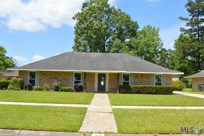 Denham Springs Single Family Home For Sale: 1421 Lansdowne Dr