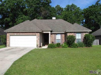 Denham Springs Single Family Home For Sale: 28495 Grand Turk Dr