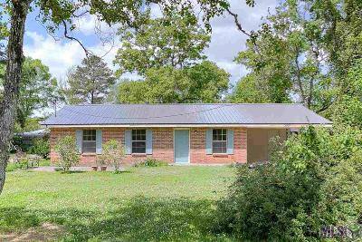 Gonzales Single Family Home For Sale: 13327 Posey Bourgeois Rd