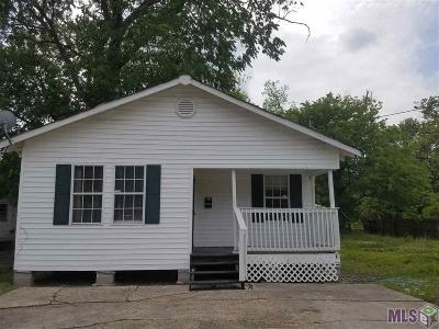 Baton Rouge LA Single Family Home For Sale: $78,900