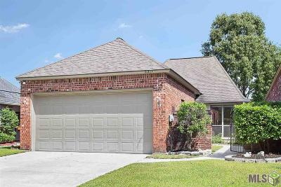 Gonzales Single Family Home For Sale: 5511 Courtyard Dr