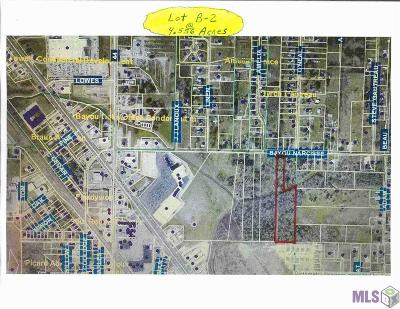 Gonzales Residential Lots & Land For Sale: B-2-A E Bayou Narcisse St