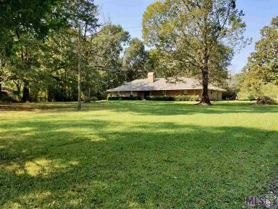 Zachary Single Family Home For Sale: 20519 McHost Rd