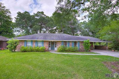 Baton Rouge LA Single Family Home For Sale: $169,500