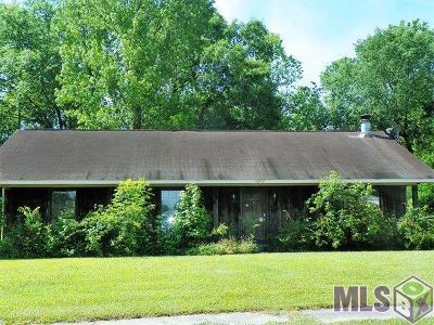 Baton Rouge LA Single Family Home For Sale: $76,500