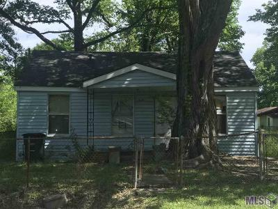 Baton Rouge LA Single Family Home For Sale: $45,000
