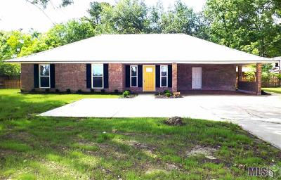 Prairieville Single Family Home For Sale: 41268 La Hwy 42