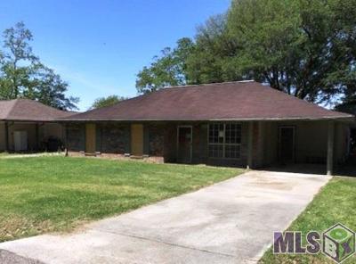 Denham Springs Single Family Home For Sale: 2107 Connie Dr